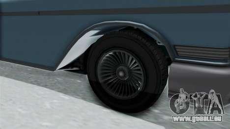 GTA 5 Declasse Tornado No Bobbles and Plaques pour GTA San Andreas vue arrière