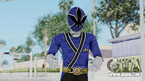 Power Rangers Samurai - Blue für GTA San Andreas