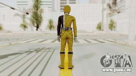 Power Rangers S.P.D - Yellow für GTA San Andreas dritten Screenshot
