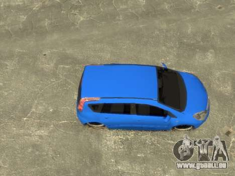Nissan Note pour GTA 4 est un droit
