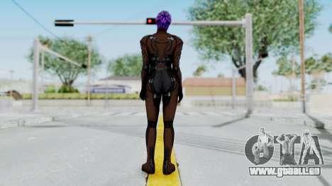 Mass Effect 1 Asari Shiala Commando pour GTA San Andreas troisième écran