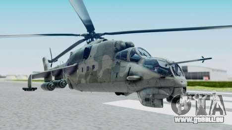 Mi-24V Croatian Air Force H-035 für GTA San Andreas
