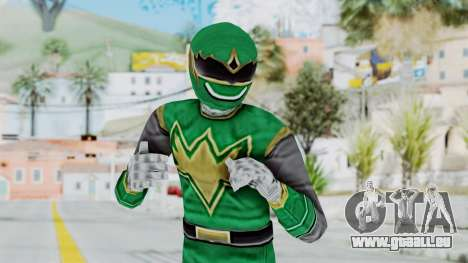 Power Rangers Ninja Storm - Green für GTA San Andreas