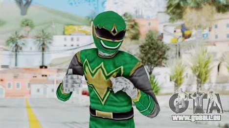 Power Rangers Ninja Storm - Green für GTA San Andreas