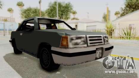 GTA 3 Corpse Manana pour GTA San Andreas vue de droite