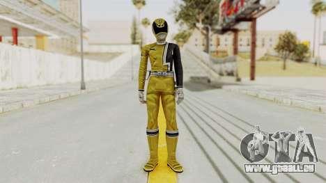 Power Rangers S.P.D - Yellow für GTA San Andreas zweiten Screenshot