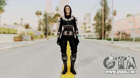 Mass Effect 3 Miranda Short Hair Ajax Armor für GTA San Andreas zweiten Screenshot