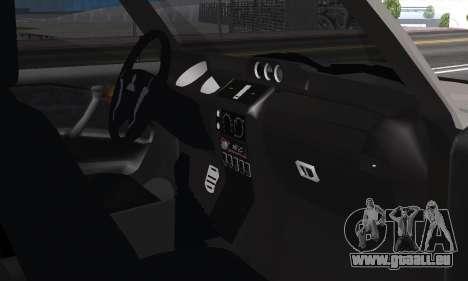 Mitsubishi Pajero 2 pour GTA San Andreas vue intérieure