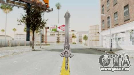 Horse Orphnoch Sword für GTA San Andreas zweiten Screenshot