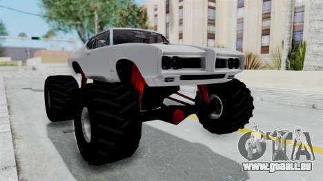 Pontiac GTO 1968 Monster Truck pour GTA San Andreas