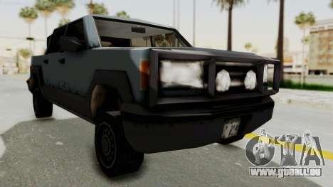 GTA 3 Cartel Cruiser pour GTA San Andreas vue de droite