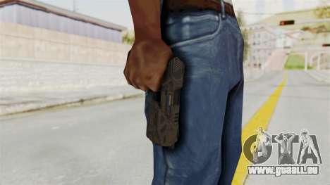 Black Ops 3 - MR6 Pistol pour GTA San Andreas troisième écran