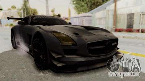 Mercedes-Benz SLS AMG GT3 PJ1 pour GTA San Andreas vue de droite