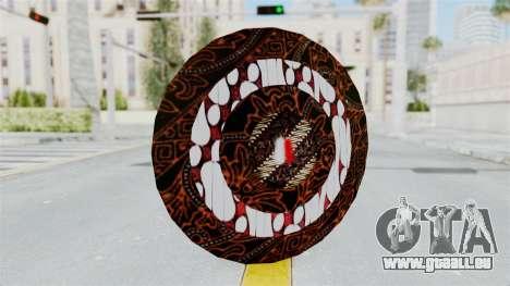 SpiderMan Indonesia Version Shield für GTA San Andreas