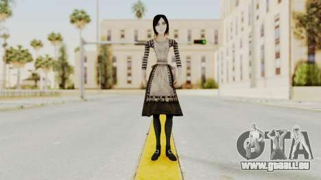 Alice London Madness Returns für GTA San Andreas zweiten Screenshot