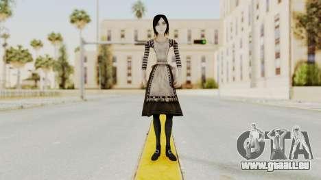 Alice London Madness Returns für GTA San Andreas zweiten Screenshot