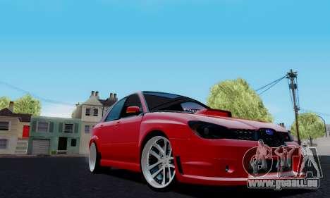 Subaru Impreza WRX STi Wagon Fox 2007 für GTA San Andreas