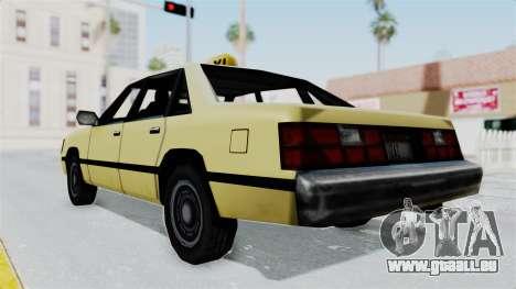 GTA Vice City - Taxi pour GTA San Andreas vue de droite
