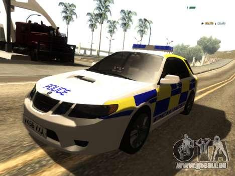SAAB 9-2 Aero Turbo Generic UK Police für GTA San Andreas