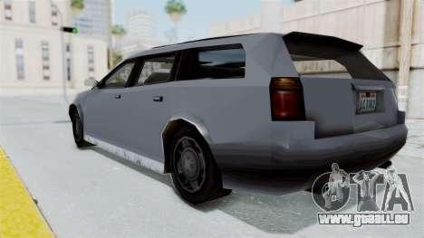 GTA LCS Sindacco Argento v2 pour GTA San Andreas laissé vue