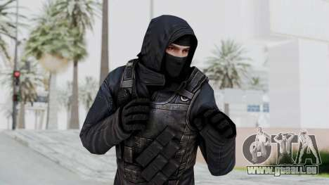 SAS No Gas Mask from CSO2 pour GTA San Andreas