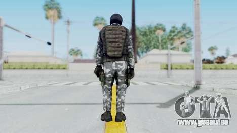 Black Mesa - HECU Marine v3 pour GTA San Andreas troisième écran
