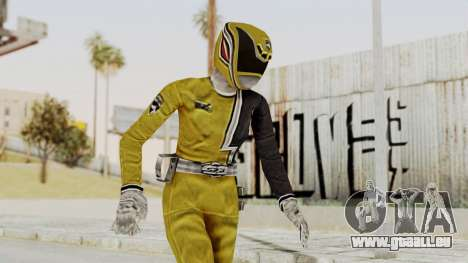 Power Rangers S.P.D - Yellow pour GTA San Andreas