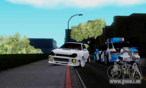 Subaru Impreza WRX STi Wagon Stens pour GTA San Andreas vue de droite