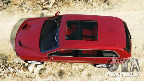 GTA 5 Jeep Grand Cherokee SRT-8 2015 v1.1 vue arrière