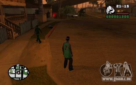 CJ Animation ped pour GTA San Andreas septième écran