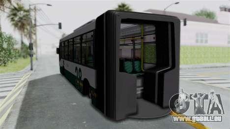 TodoBus Pompeya II Scania K310 Linea 28 pour GTA San Andreas laissé vue