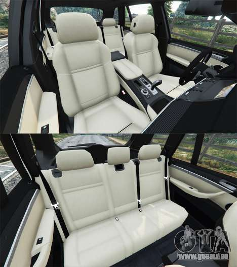 GTA 5 BMW X5 M rechte Seitenansicht