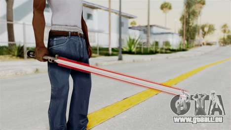 Star Wars LightSaber Red für GTA San Andreas