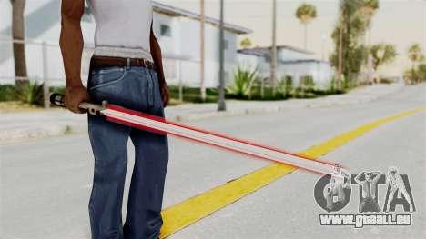 Star Wars LightSaber Red für GTA San Andreas