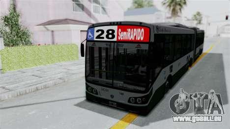 TodoBus Pompeya II Scania K310 Linea 28 pour GTA San Andreas vue de droite