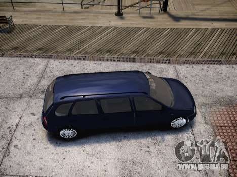 VAZ Kalina 1117 7-porte pour GTA 4 est un côté