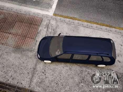 VAZ Kalina 1117 7-porte pour GTA 4 vue de dessus