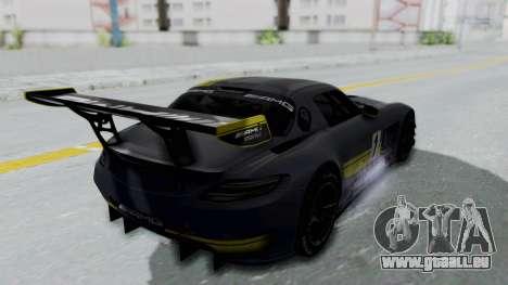 Mercedes-Benz SLS AMG GT3 PJ5 pour GTA San Andreas roue