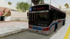 Todo Bus Pompeya II Agrale MT15 Linea 71 für GTA San Andreas