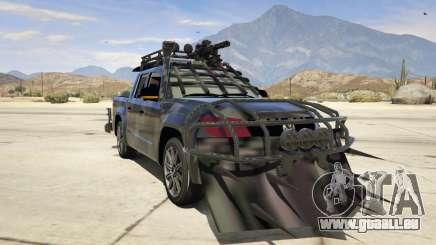 Volkswagen Amarok Apocalypse für GTA 5