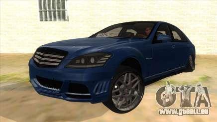 Mercedes-Benz S65 Rus Stance pour GTA San Andreas