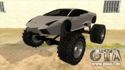 Lamborghini Reventon Monster Truck pour GTA San Andreas