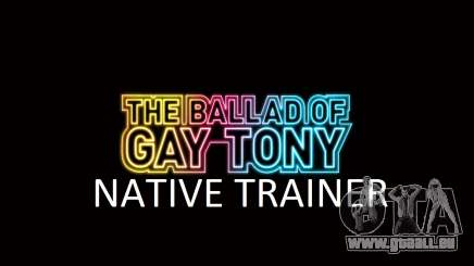 Native Trainer GTA EFLC ENG [STEAM] für GTA 4