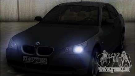 BMW 530xd stock pour GTA San Andreas