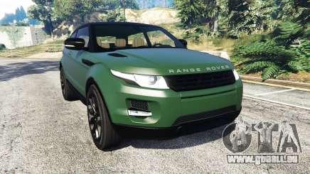 Range Rover Evoque v2.0 pour GTA 5
