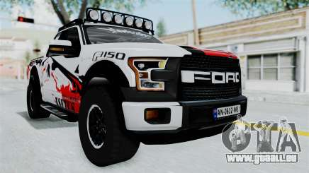 Ford F-150 Raptor 2015 pour GTA San Andreas