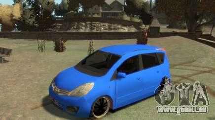 Nissan Note pour GTA 4