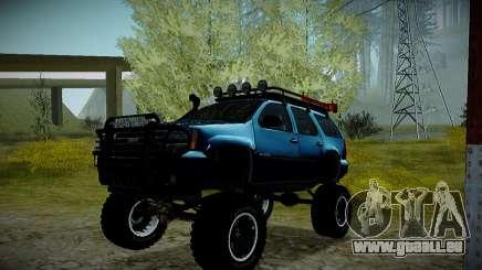 Chevrolet Tahoe LTZ 4x4 für GTA San Andreas