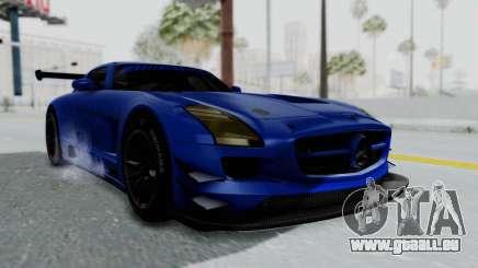 Mercedes-Benz SLS AMG GT3 PJ5 pour GTA San Andreas