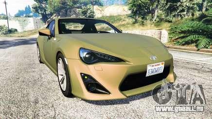 Toyota GT-86 v1.6 pour GTA 5